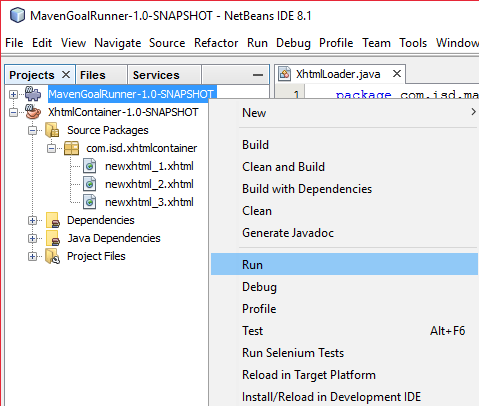Work process automation with NetBeans custom modules and Maven