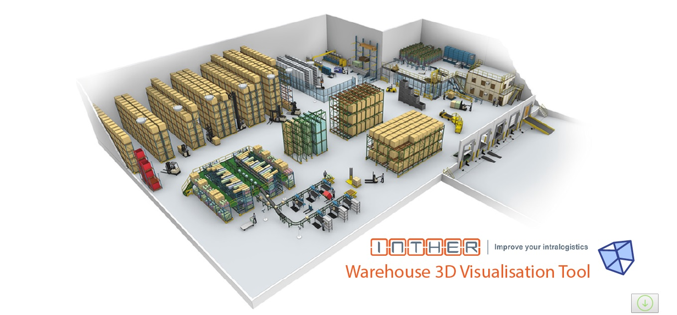 Developing a real project just with student 39 s experience for Warehouse racking design software