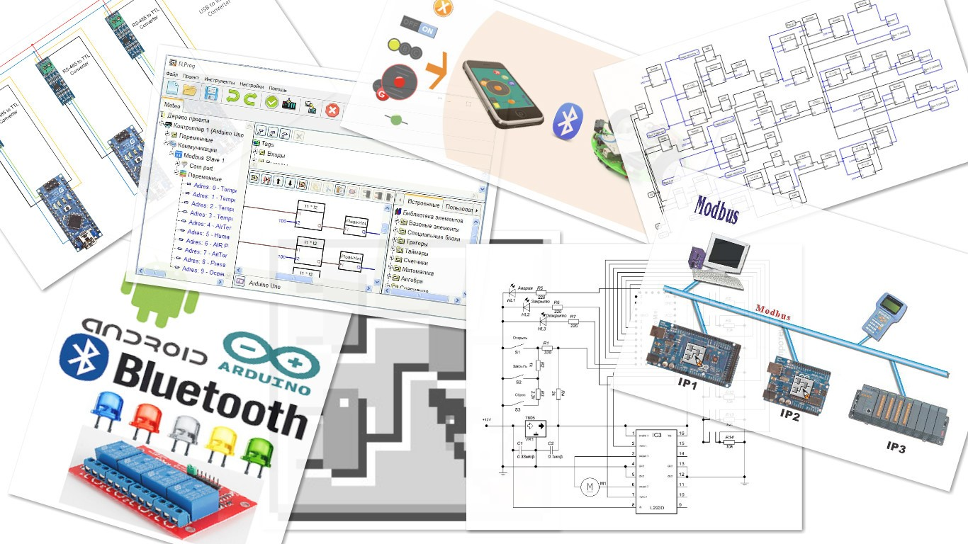 Arduino And Programming In Flprog Isd Software Solutions Block Diagram Of Plc System Layout